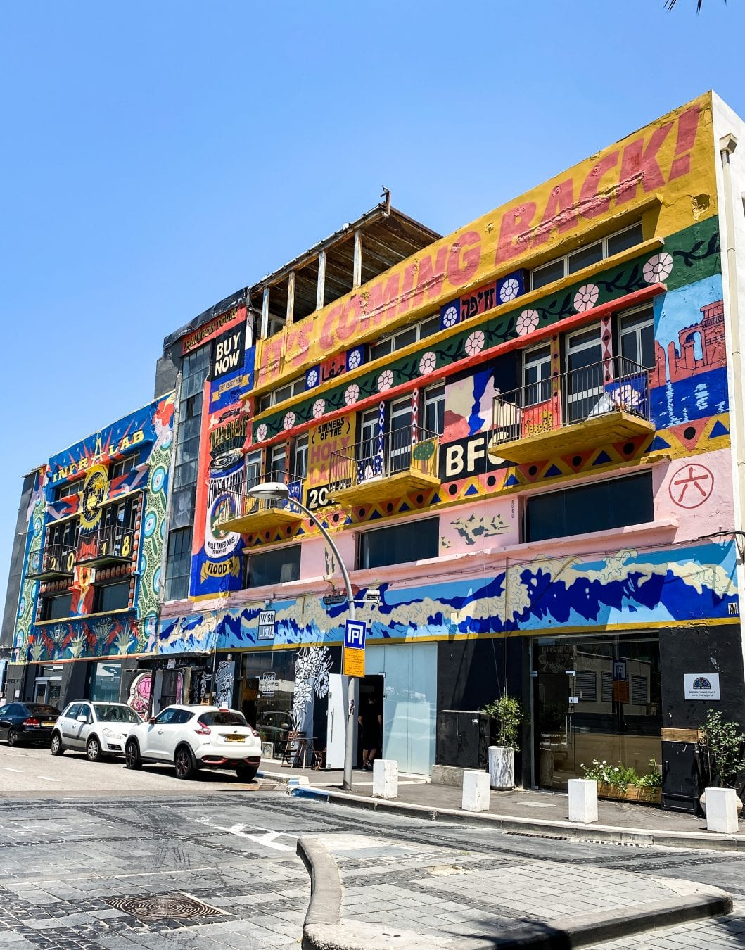 haifa city art works