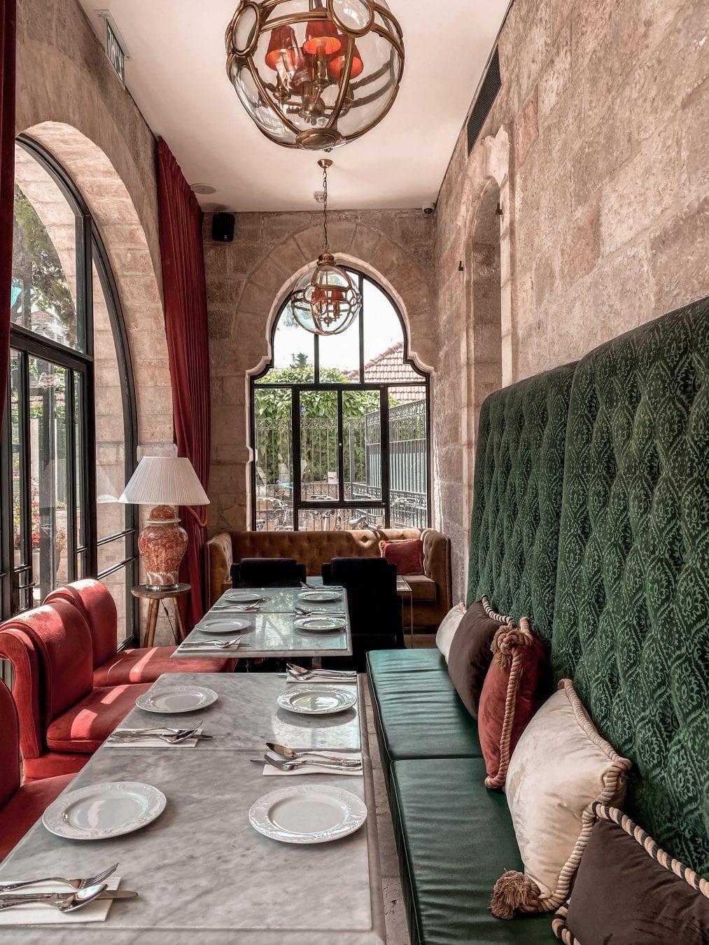 the jerusalem guide hotel villa brown