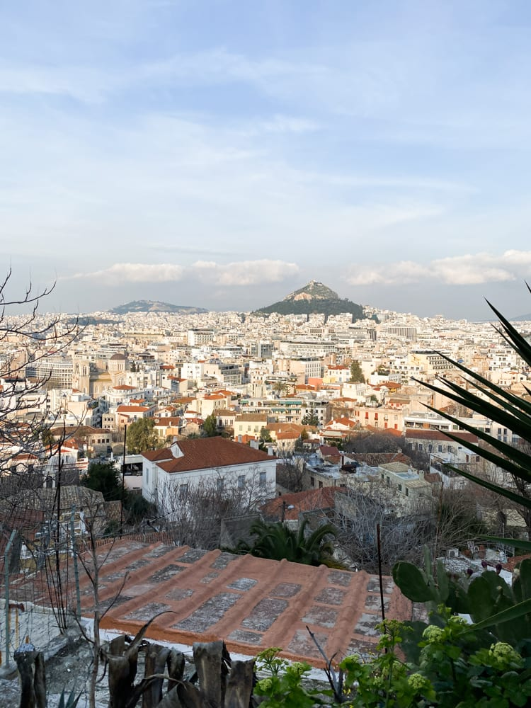 beautiful views of athens