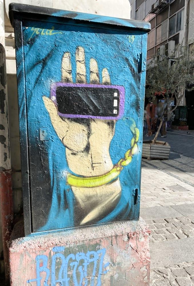 Graffiti tours athens greece