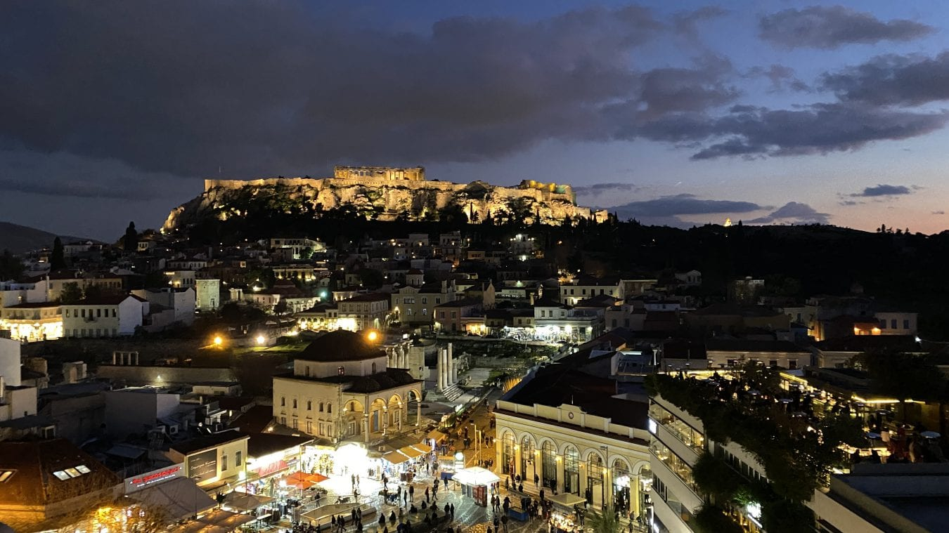 Best rooftops of athens