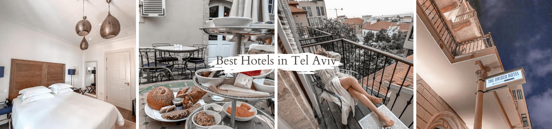 תל אביב לפי אזורים ומלונות