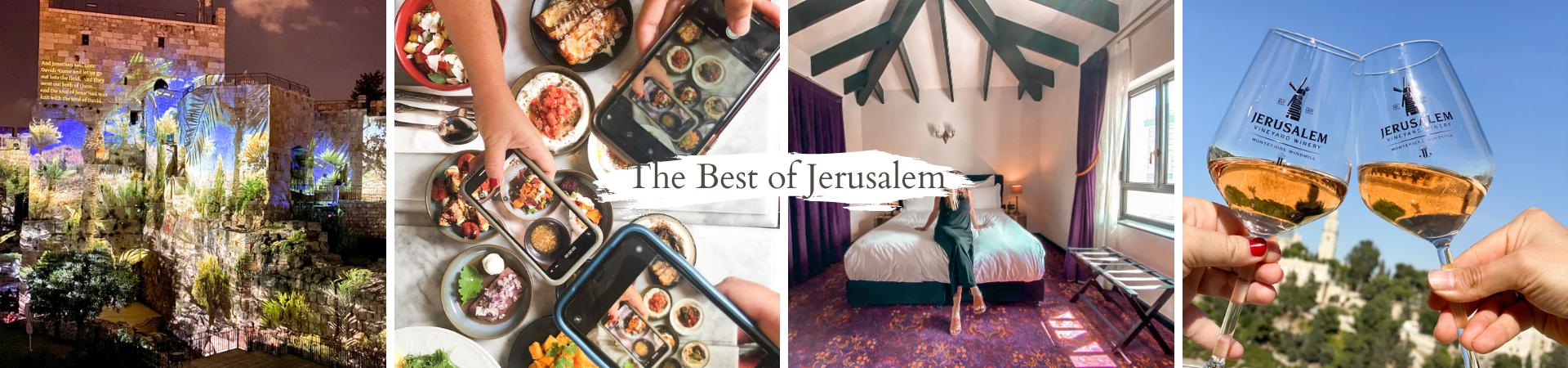 ירושלים הרומנטית מסעדות מלונות