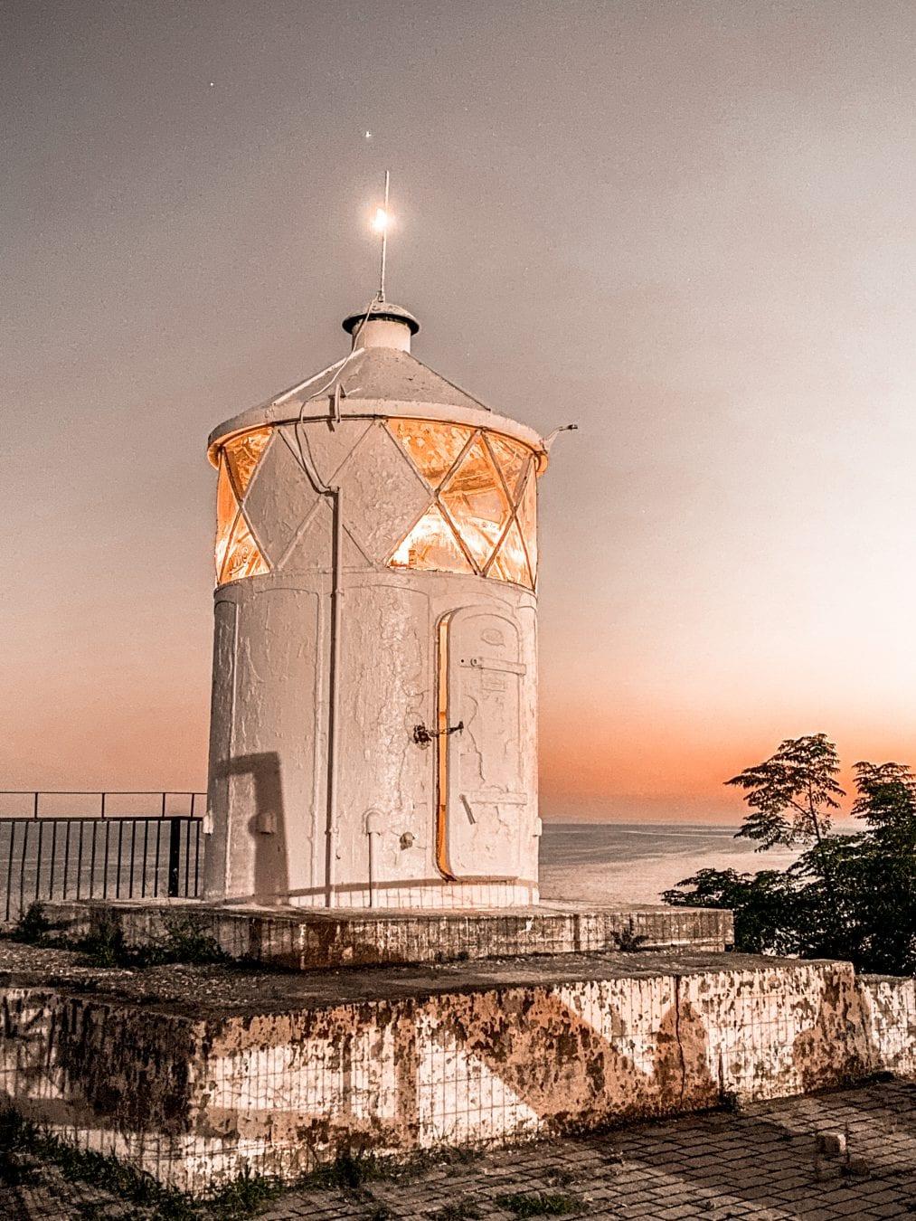 the light house of Kavala Greece