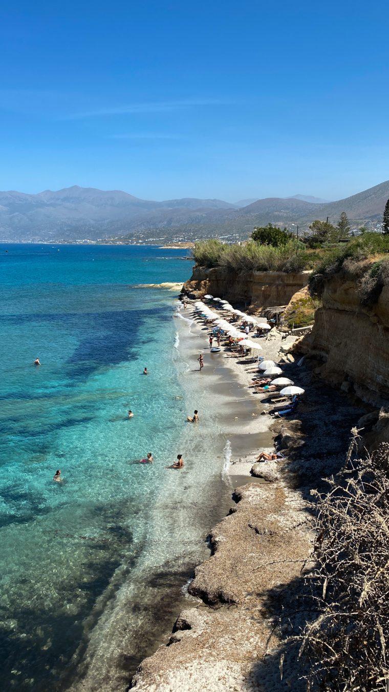 Saradari beach Crete Greece
