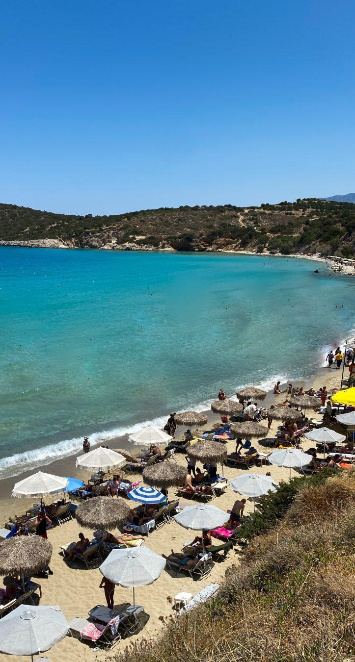 Voulisma beach Crete Greece חוף כרתים יוון