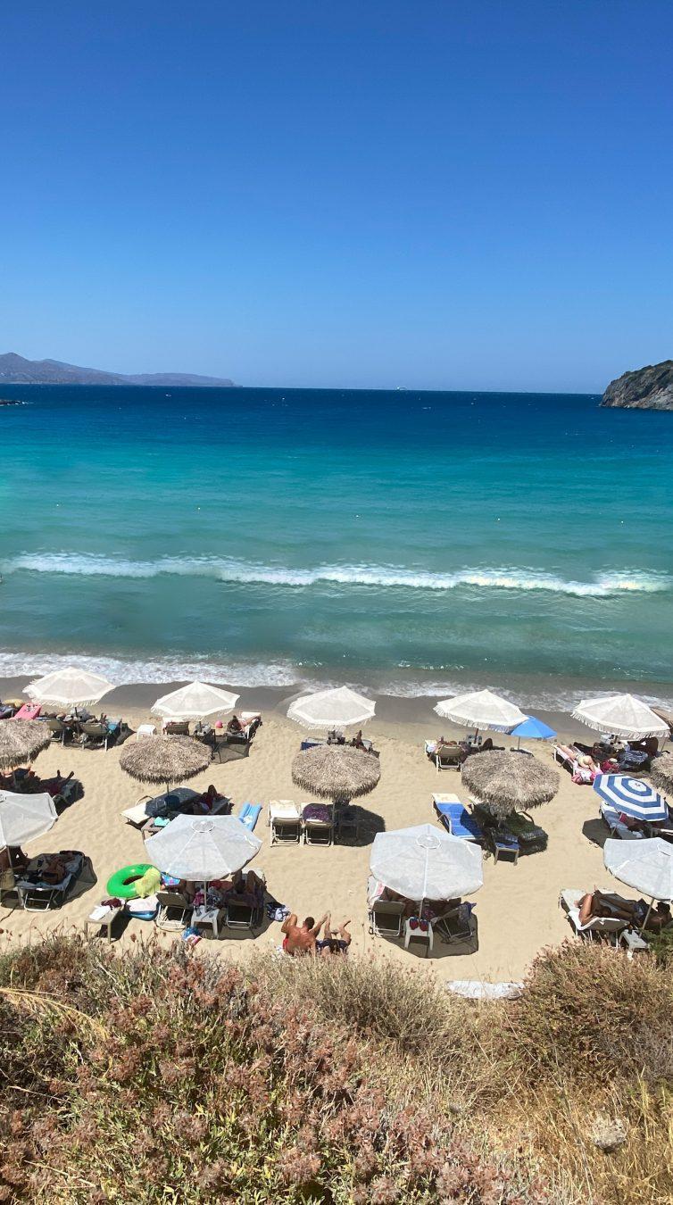 Voulisma beach Crete Greece