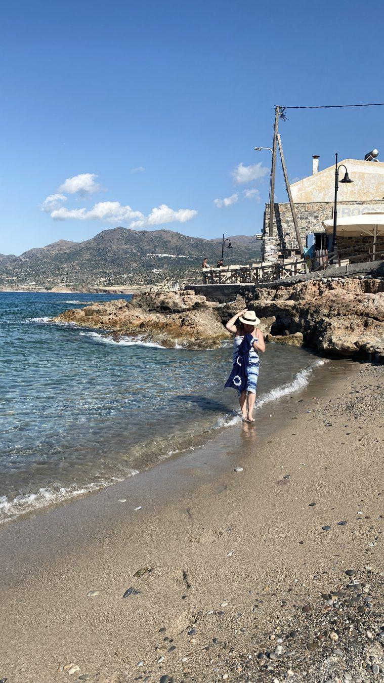 Taverna Tó Bogázi Mochlos Crete Greece