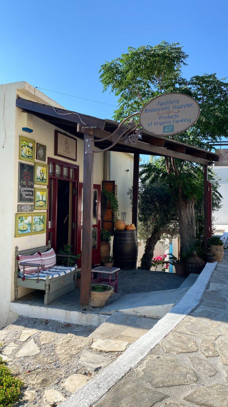 Kavousi organic traditional product Crete Greece