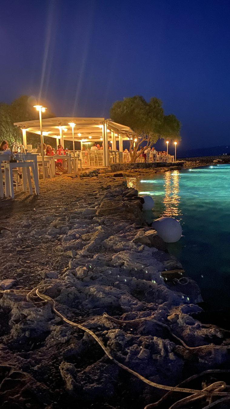 canali restaurant elounda port crete greece